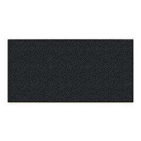 Black Garage Mat