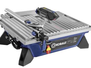 Kobalt Tabletop Tile Saw