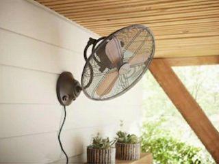 Allen   Roth Oscillating Wall Fan