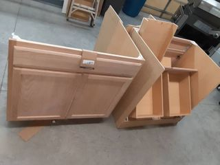 Three Project Source Base Cabinets  amp  Drawers