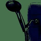 Powermax Chrome 9 spray Handheld Shower Head RETAIl 44 98