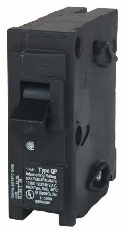Siemens Q120 20 Amp 1 Pole 120 Volt Circuit Breaker RETAIl  4 34