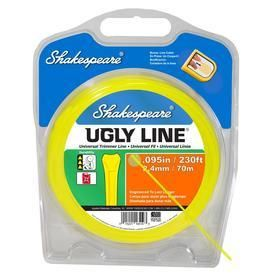 Shakespeare 230 ft Spool 0 095 in Spooled Trimmer line RETAIl  14 97