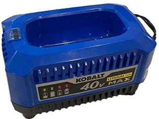 Click image to open expanded view Kobalt 40 Volt lithium Ion  li Ion  Generation 2 Compact Cordless Power Equipment Battery Charger with New Top load Design  2019 Model RETAIl  37 69