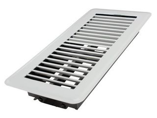 Accord Ventilation White Floor Register  Duct Opening  2 in x 12 in  Outside  3 75 in x 13 5 in  RETAIl  7 38