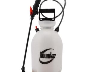 Roundup 2 Gallon Plastic Tank Sprayer   New RETAIl  19 98