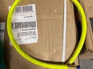 Air hose whip maximum working pressure 300 psi RETAIl  12 45