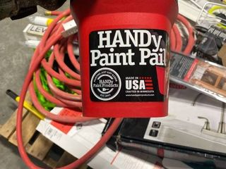 Bercom 2500 CT Handy Paint Pail  1 Pack  Red RETAIl  11 89