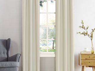 Kenneth Energy Saving Blackout Grommet Top Curtain Panels   Set of 2