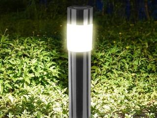 1 2 4 8PC Solar Garden lights lawn light Stainless steel Outdoor Waterproof lawn light for Garden Yard lawn