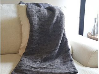 Ethan Cozy Natural Acrylic Throw Blanket