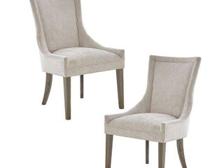 Madison Park Signature Ultra Dining Side Chairs  Set of 2  Retail 376 99