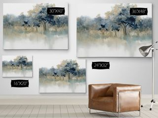 Waters Edge II  Gallery Wrapped Canvas
