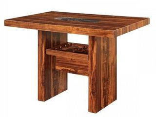 Furniture of America Classic 47 inch Wood Coffee Table