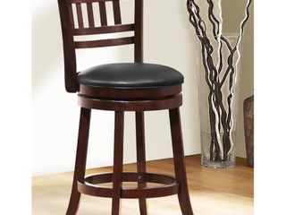 Verona Swivel High Back Counter Height Stools by iNSPIRE Q   Set of 2