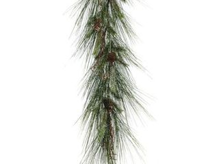 Iced long Needle Pine Garland Retail 84 99
