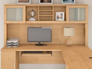 Strick   Bolton 72W Hutch for l Shaped Desk Retail 339 99