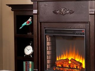 Gracewood Hollow Forbes 70 inch Espresso Electric Fireplace Retail 636 99
