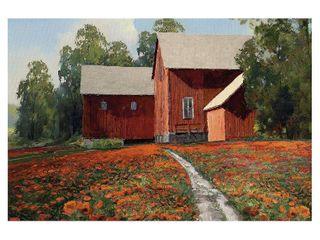 A Poppy Patch  by Mark Chandon Canvas Art Print