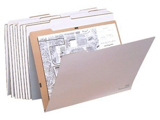 VFolder37 24 x 36 inch Flat Items Storage VFolders  Pack of 8