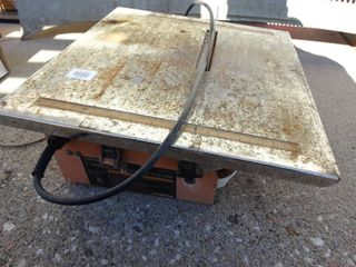 7  portable wet cutting tile saw