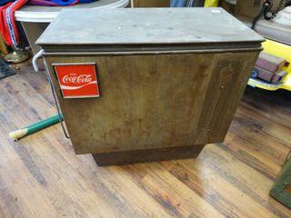 Antique Coca Cola cooler  The Cornelius Company