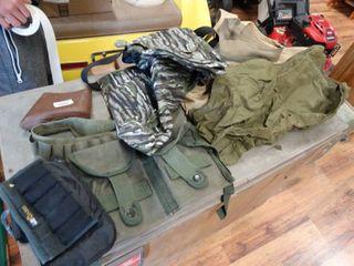 Assorted shooting gear