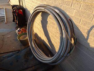 Very heavy duty electric wire in conduit