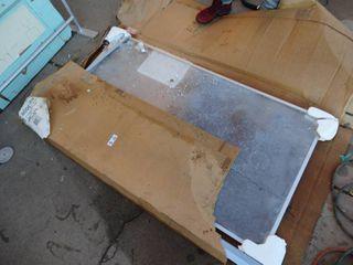 Kinkead showerglide standard 2 panel tub door