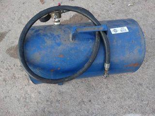 Blue air tank