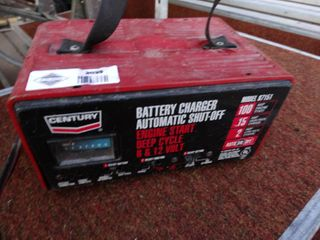 Century battery charger   100 amp jump box