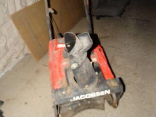 Jacobsen 420E gas snow blower