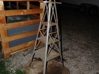 Windmill w  cement pad