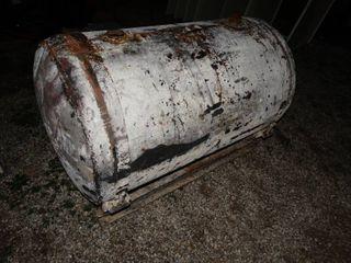 lARGE metal diesel fuel tank