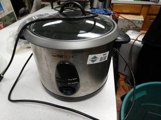 Clatronic s s rice cooker