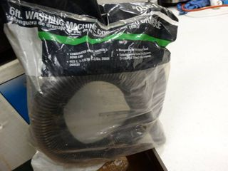 6ft washing machine hose  new in package