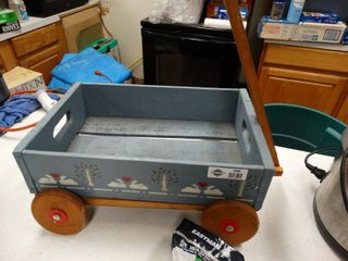 Wooden craft wagon