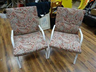 2 patio chairs w  cushions