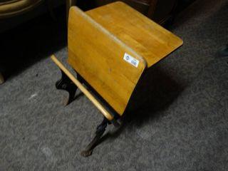 Small antique childs school desk