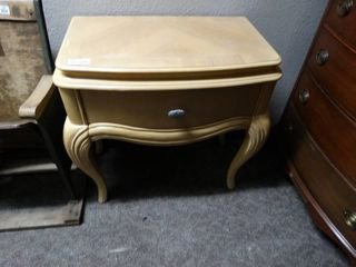 lamp table  TV table w  drawer