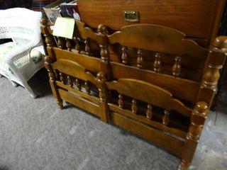 Full Queen bed  headboard footboard   rails