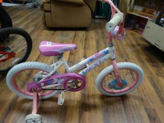 Kids 16  NEXT bicycle  butterfly  like new