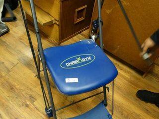 Chair N gym workout machine