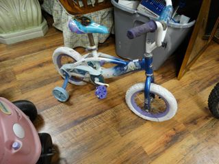 Childs Huffy Frozen bicycle