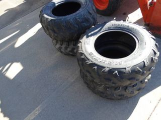 Set of 4 tires Polaris Rzr UTV