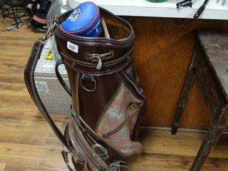 Golf bag w  KU driver cover