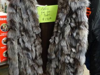 Beautiful ladies Fox fur coat