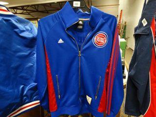 Adidas Detroit Pistons jacket  NBA World Champions  Anniversary Edition Size M