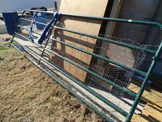 13  8  long green tube farm gate