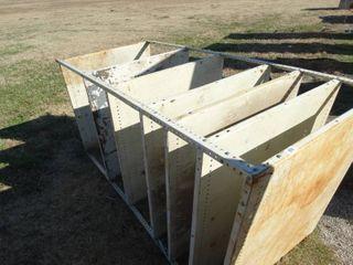 large heavy duty metal storage rack 42  x 36  x 87  tall